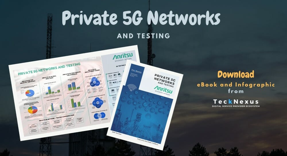 TeckNexus - Private 5G Networks and Testing Infographic