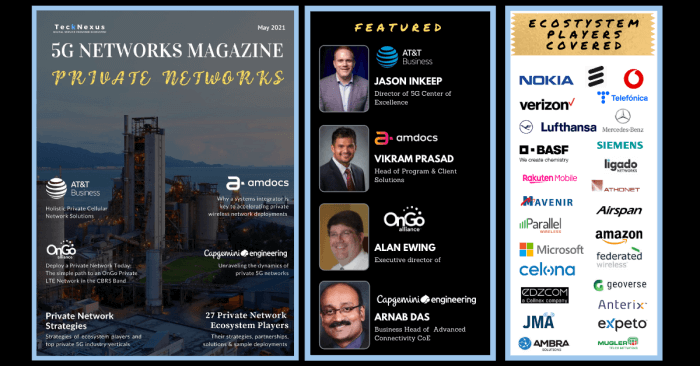 5G Networks Magazine - Private Networks - May Issue | TeckNexus